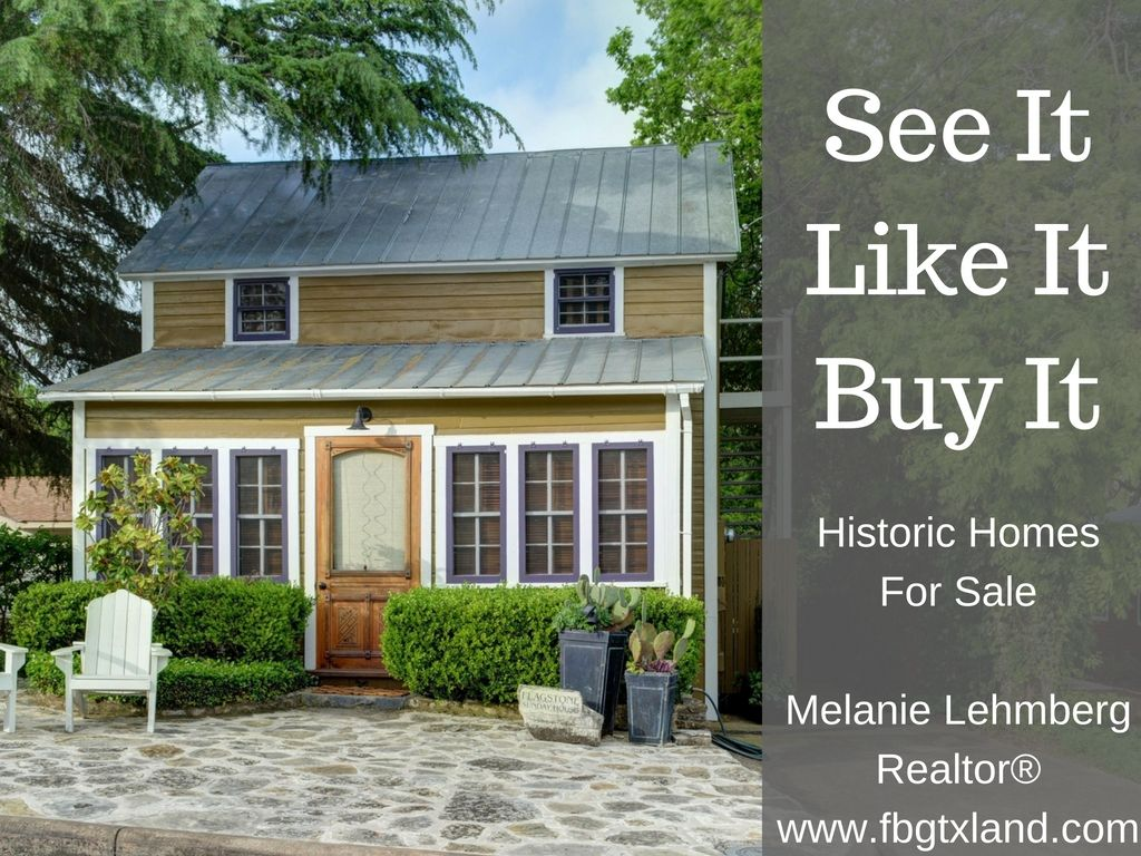 Historic Homes - Fredericksburg Texas Properties for Sale