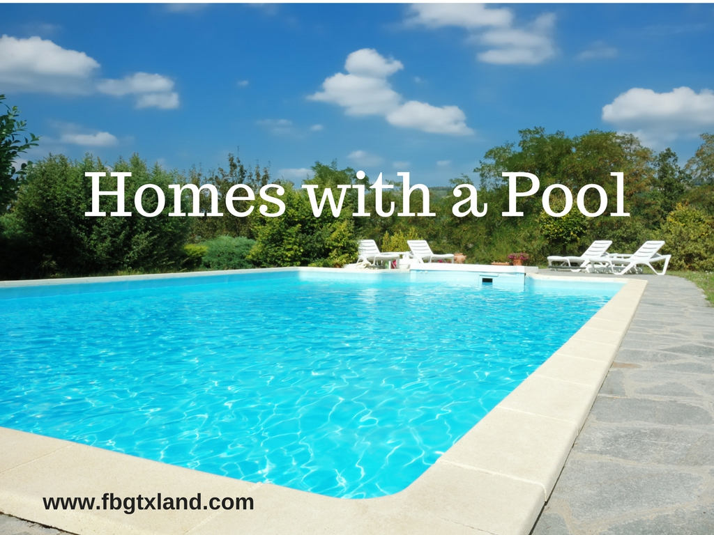 Homes with a Swimming Pool - Fredericksburg Texas Properties for Sale